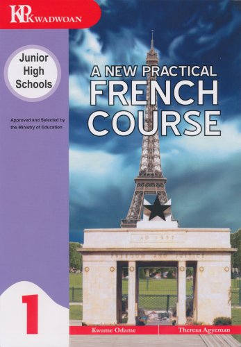 This is the first of three French books written for Junior High Schools in Ghana by Kwadwoan.  In this era of educational reform and its attendant emphasis on the study of French A New Practical French Course Book One provides the perfect course book to the French teacher and the pupil alike.