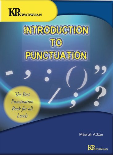 This book treats all the topics in detail through working definitions, explorations, explanations and examples in sentences and other contexts in which punctuation occurs.  The exercises at the end of each chapter are especially useful as they test students and 'users' grasp of the topics.