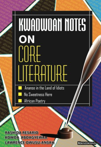 Kwadwoan Notes on various literary texts has become a bestselling literature commentary in all Senior High Schools around the country. Each Commentary has been carefully written to meet the needs and expectation of both students and teachers of literature as well as individuals who wish to explore and enjoy curriculum –related texts.