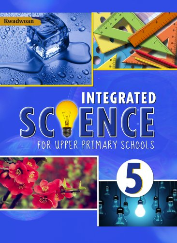 This is another engaging science book from Kwadwoan aimed at promoting the study of science by nurturing in young learners the desire to pursue higher education in the sciences; Integrated Science for Upper Primary 5 uses practical examples, lively pictures and intriguing activities to achieve its goal.  Having been put together by experienced science educators, this book is essential for basic level science education.