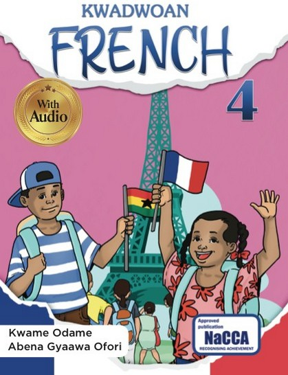 Kwadwoan French 4 is an extraordinary resource for learners at Key Phase 3. This brilliantly written book helps learners glide through the higher levels of acquiring the French language. Culturally relevant and practical contexts are used to ensure that learners understand the oral and written aspects of the language. Part of its strength is the accompanying audio to help learners grasp the language when spoken.