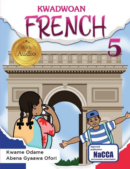 Another extraordinary resource for learners at Key Phase 3 is the Kwadwoan French 4. This brilliantly written book helps learners glide through the higher levels of acquiring the French language. Culturally relevant and practical contexts are used to ensure that learners understand the oral and written aspects of the language. Part of its strength is the accompanying audio to help learners grasp the language when spoken.